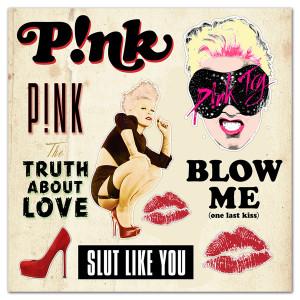P!nk Truth Sticker Sheet