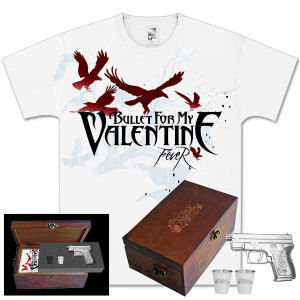 Bullet For My Valentine Gun Flask Gift Box