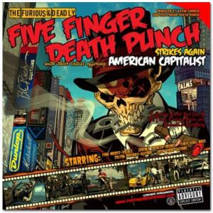 Five Finger Death Punch - American Capitalist CD