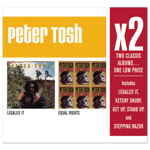 Peter Tosh - X2 (Legalize It/Equal Rights) CD