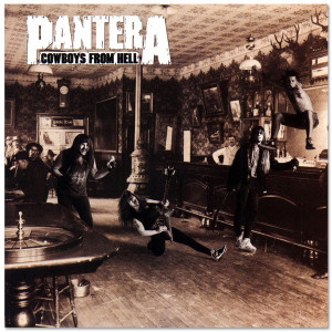 Pantera Cowboys From Hell CD