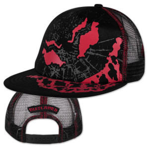Disturbed Scary Guy Mesh Back Trucker Hat