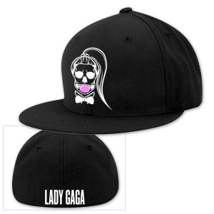 Lady Gaga Skeleton Baseball Hat