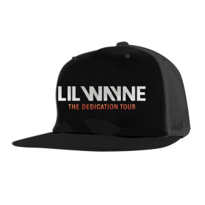 Dedication Tour Black Trucker Hat
