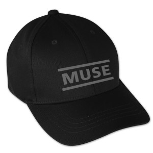 Muse 3D Embroidered Logo Snapback Hat
