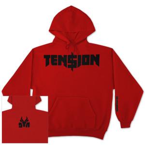 """Die Antwoord """"Ten$ion"""" Logo Hoodie"""