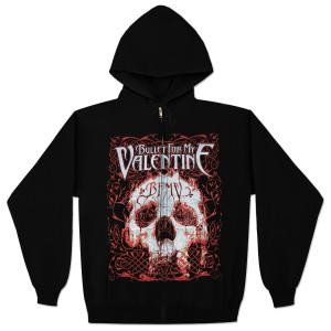 Bullet For My Valentine Elegant Scream Full-Zip Hoodie