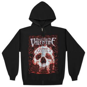 Bullet For My Valentine Elegant Scream Zip Hoodie