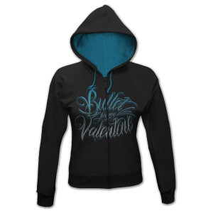 Bullet for My Valentine Blue Script Logo Junior Hoodie
