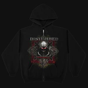 Disturbed Medieval Reaper Full-Zip Hoodie
