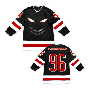 Disturbed The Face Hockey Jersey