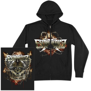 Escape The Fate Napalm Zip Hoodie