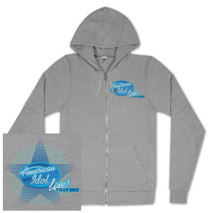 American Idol Live Star Zip Hoodie