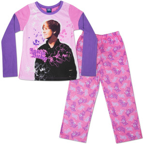 Justin Bieber Love 1 Poly Style Kids' Pajama Set