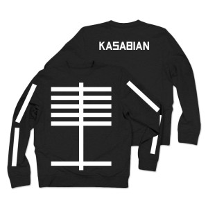 Kasabian Lines Crew Neck Sweatshirt