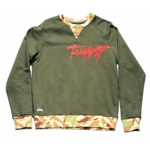 Trukfit Contrast Rib Crew Sweatshirt