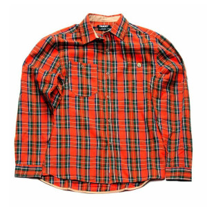 Trukfit Plaid Woven Long Sleeve Shirt