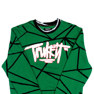 Trukfit Geo Shatter Crew Sweatshirt