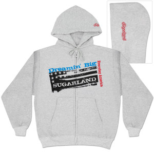 Sugarland Dreamin' Big Flag Full-Zip Hoodie