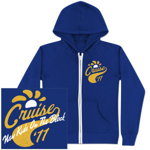 New Kids on the Block Cruise '11 Zip Hoodie
