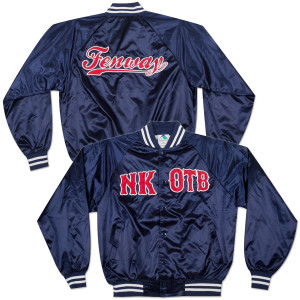 New Kids on the Block Fenway Deluxe Baseball Jacket