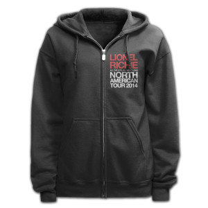 Lionel Richie World Tour Zip Hoodie
