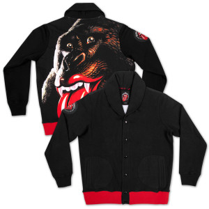 Gorilla Button Up Sweater