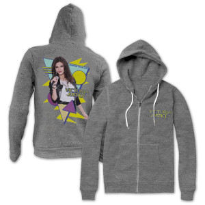 Victoria Justice 80's Jrs Photo Hoodie
