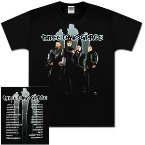 Three Days Grace 2008 Slash Photo T-Shirt