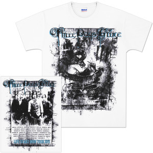 Three Days Grace Destroyed 2011 Tour T-Shirt