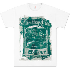 Three Days Grace Vintage Poster T-Shirt