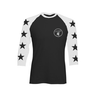 5SOS: Star Sleeve Baseball Shirt