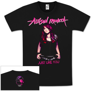 "Allison Iraheta ""Just Like You"" T-Shirt"