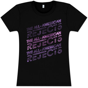 All-American Rejects Stacked Logo Babydoll