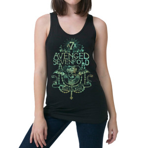Avenged Sevenfold Kings Prayer Junior Tank