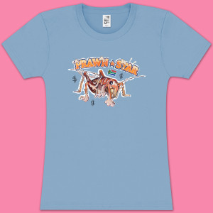 Die Antwoord Prawn Star Girlie T-Shirt