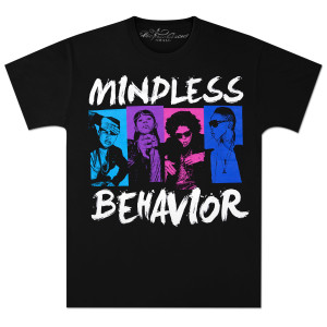 Mindless Behavior Blocks Photo T-Shirt