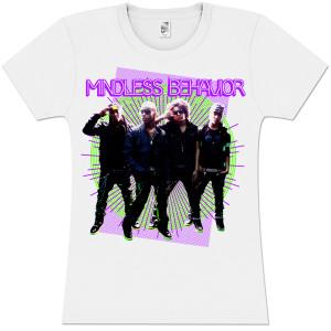 Mindless Behavior Rays Girlie T-Shirt