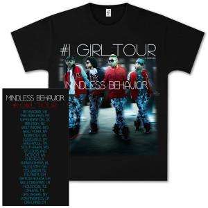 Mindless Behavior 2012 Tour T-Shirt