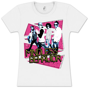 Mindless Behavior Trisplat Girlie T-Shirt