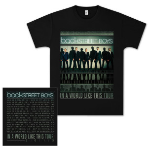 Backstreet Boys BSB Film T-Shirt