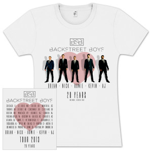Backstreet Boys Through My Heart Junior T-Shirt