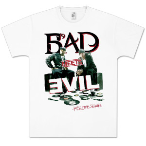Bad Meets Evil Carved T-Shirt