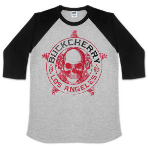 Buckcherry Baseball Raglan Shirt