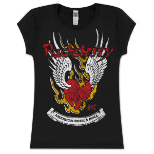 Buckcherry Womens Winged Heart T-Shirt