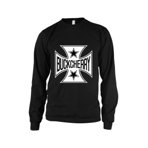 Buckcherry Square Cross Long Sleeve Shirt