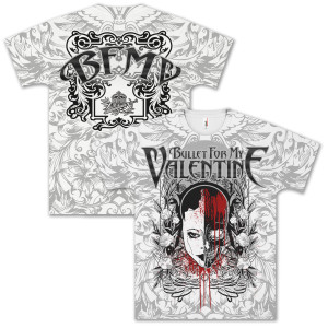 Bullet For My Valentine Bloody Face T-Shirt