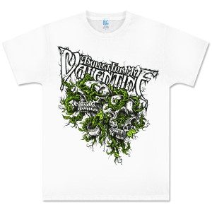 Bullet for My Valentine White Vines Shirt