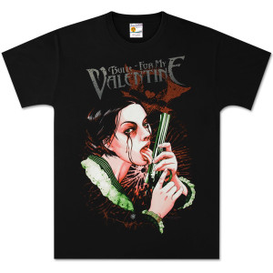 Bullet for My Valentine Big Gun Black Tee