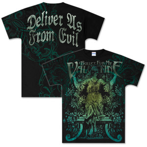 Bullet For My Valentine Deliver Us Allover Tee